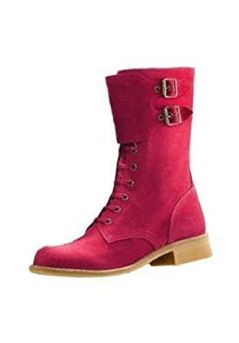 Heine Women's Stiefelette Boots Red 8VK8sSCr