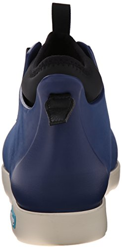 Mens Nativo Fitzsimmons Rain Boot Regatta Blu / Osso Bianco