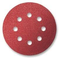 SANDING DISC 125MM 8 HOLES VECRO 80 2608605642 By BOSCH