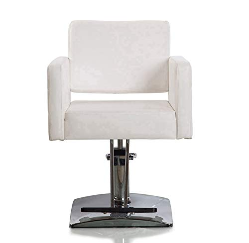 Beauty Style Hydraulic Styling Chair Salon Spa Barber Chair White
