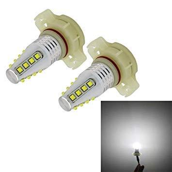 Uniqus 2 PCS PSX24 80W 800LM 16 LED Bulbs White Light Auto Car Fog Lights, DC 12-24V