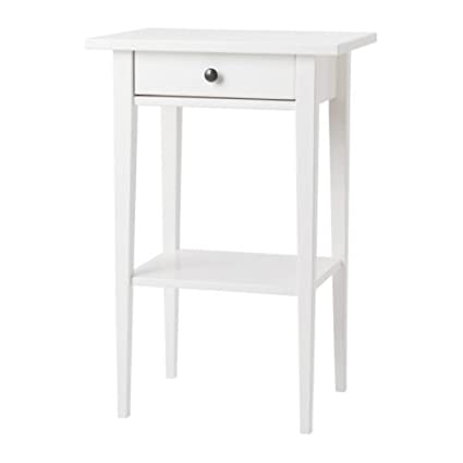 IKEA HEMNES Bedside Tables, White (One Pair)