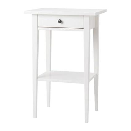 Amazoncom IKEA HEMNES Bedside tables white One Pair Kitchen