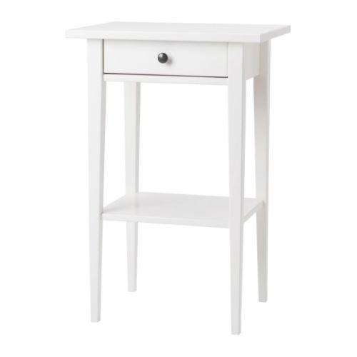Ikea Nightstand, white 1624.858.142 (Ikea Bedroom Furniture White)