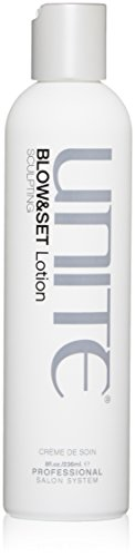 Hair Sculpting Lotion - UNITE Hair Blow & Set Lotion, 8 Fl oz, (Packaging may vary)