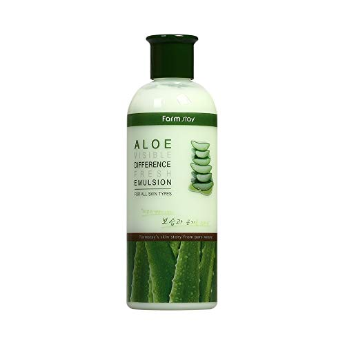 (Farmstay Aloe Visible Difference Fresh Emulsion or Toner 350ml 11.83 oz)