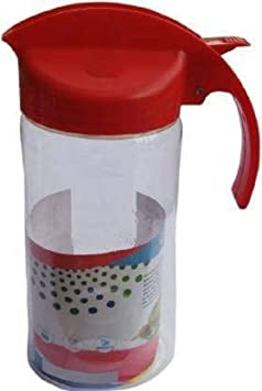 The Shiv 1000 ml, Cooking Oil Dispenser Set  Pack of 1  Multicolor Oil Stoppers   Pourers