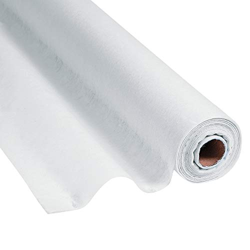 Fun Express White Gossamer Roll 100 FT x 3 FT-Prom & Wedding Decor-Party Supplies-1 Roll