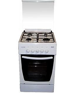 SVAN SVK 5502 GBB Independiente Encimera de gas Blanco - Cocina (Cocina independiente, Blanco