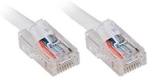 WHITE CAT5E PATCH CABLE 3FT