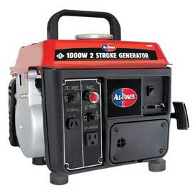 All electric power America APG3004, 800 running Watts/1000 Starting Watts, Gas driven transportable Generator finest Cost