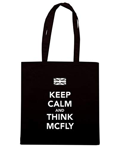 CALM AND Shirt THINK TKC0563 Shopper Nera MCFLY Borsa KEEP Speed 1x0YBSq