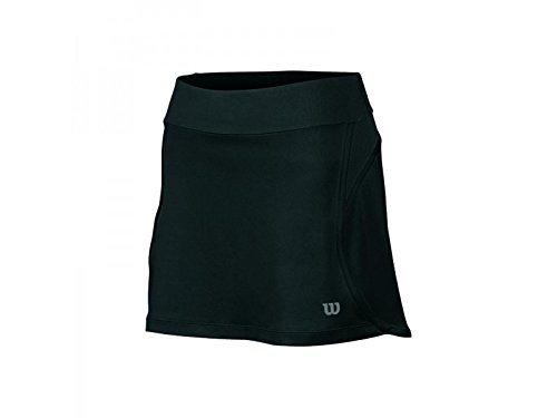 Wilson Tennisbekleidung W Sporty 12.5 Skirt Falda, Mujer, Negro, S ...