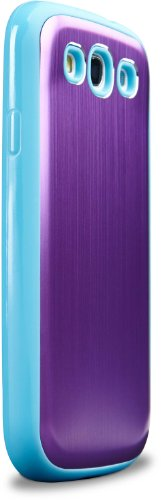 Galaxy Gunmetal Protective Case Turquoise Purple