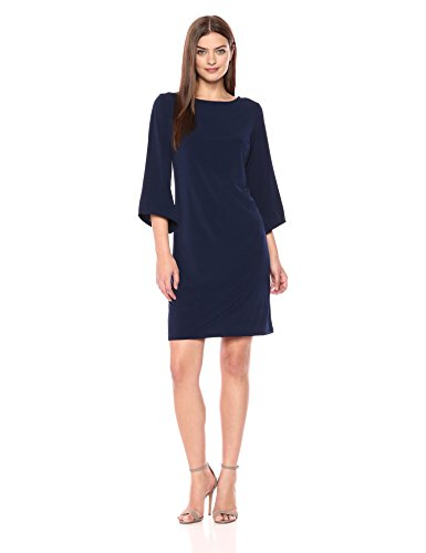 NY Collection Women's Angel Sleeve, Navy, M from NY Collection
