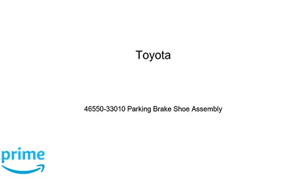 For Toyota Genuine Parking Brake Shoe Rear Right 4655033020