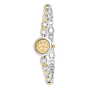 Mount Royale Fidha Collection Women's Gold Dial Brass Band Watch - 1503