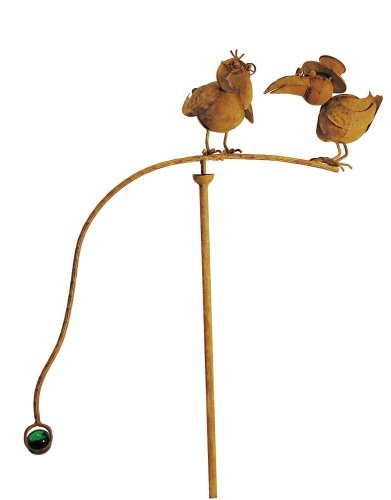 Red Carpet Studios Balancing Buddies Large Yard Art, Old Crows