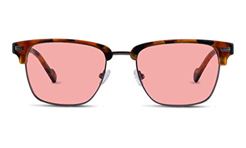 Latest Smart Light Therapy Glasses TheraSpecs Winslow Migraine Glasses for Light Sensitivity, Photophobia and Fluorescent Lights | Unisex | Indoor Lenses | Tortoise 2019