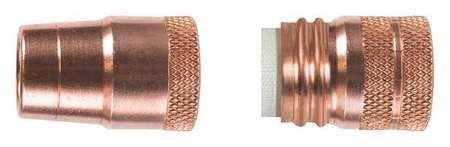 Nozzle Flush Copper 0.625 Inch
