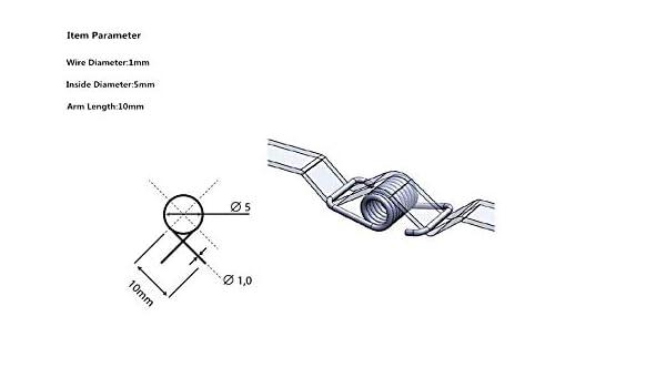 NO LOGO HHW-Spring 10pcs3D Impresora de cinturón de Bloqueo del ...