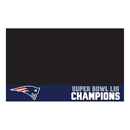 FANMATS NFL New England Patriots Super Bowl LIII Champions Grill Mat ()