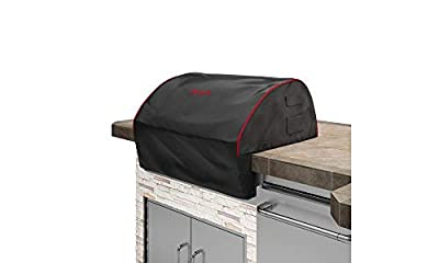 Bull Outdoor Products 56006 Grill Cover, Black with Red Trim