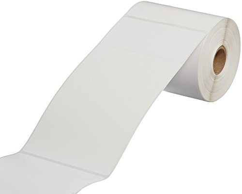- CompuLabel Direct Thermal Labels, 4x6 Inch, White, Roll, Permanent Adhesive, Near IR scan able with 2-Inch tab for UPS,185 per Roll,12 Rolls/Carton (530706)