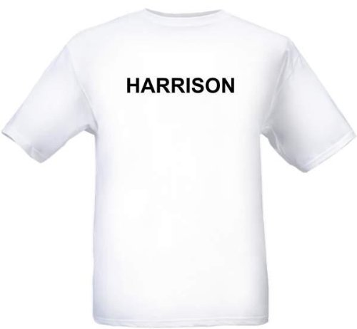 Harrison - City-Series - White Adult T-Shirt - Size XXL ()