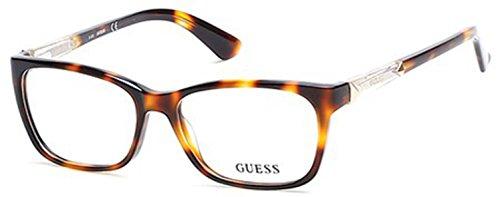 Guess Eyeglasses GU2561 2561 052 Havana Full Rim Optical Frame 50mm (Petite ()