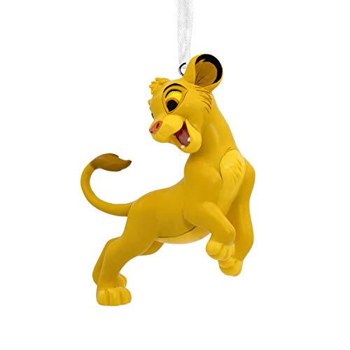 Hallmark Christmas Ornaments, Disney The Lion King Simba Ornament ()