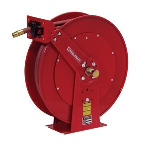 Reelcraft Hose Reel - Holds 3/4in. x 50ft. Hose, Spring Retractable, Model# 83050 OLP by Reelcraft