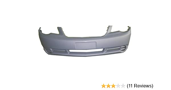 MBI AUTO CH1000897 Primered Front Bumper Cover Fascia for 2007-2010 Chrysler Sebring Sedan /& Convertible 07-10