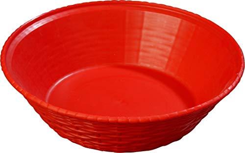 Carlisle 652405 WeaveWear Round Serving Basket, 9