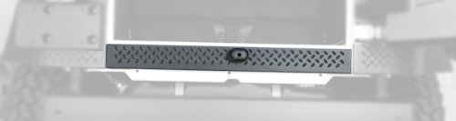 Rugged Ridge 11650.15 Black Diamond Plate Rear Tailgate Sill