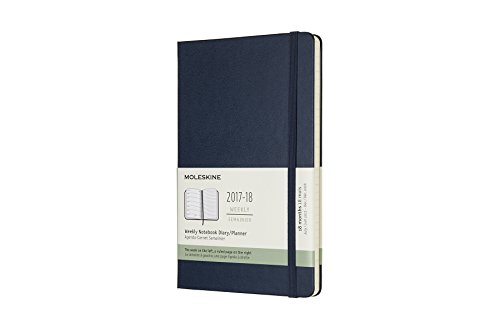 Moleskine 18 Month Weekly Planner, Large, Sapphire Blue, Hard Cover (5 x 8.25) PDF