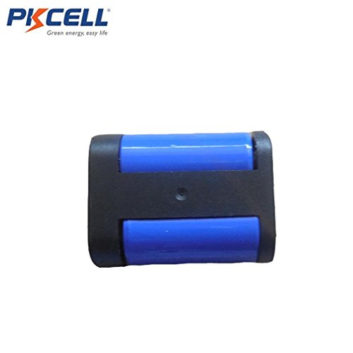 2CR5 DL245 EL2CR5 KL2CR5 5032LC 6V 1400MAH Photo Lithium Primary Battery 2 Pack by PK Cell (Image #1)