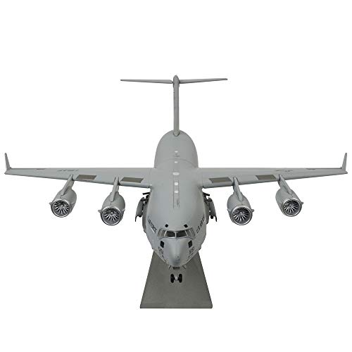 1/200 Scale US Air Force C-17 Global Overlord Strategic Transport Aircraft Alloy Aircraft Attack Plane Metal Fighter Military Model Fairchild Republic Diecast Plane Model for Commemorate Collection -