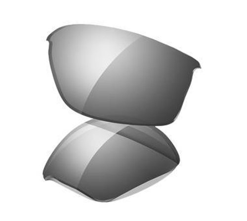 Oakley Flak Jacket Replacement Lenses,Black Iridium,one size