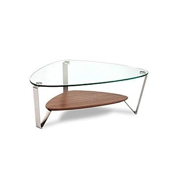 Bdi Dino 1344 Small Coffee Table Natural Walnut