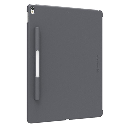 SwitchEasy CoverBuddy Pencil Holder Back Cover for iPad Pro 12.9-inch 2015/2017 Version (Compatible with Smart Keyboard, Smart Cover and Apple Pencil) (Space Gray) by Yking