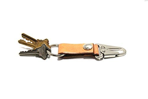 Usa Grain Leather Key Fob - 8
