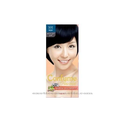 Confume Herbal Hair Color - 101 Sage Blue Black durable service ...