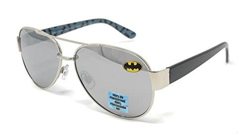DC Comics Batman Kid's Aviator Sunglasses - 100% UV - Kids Batman Sunglasses
