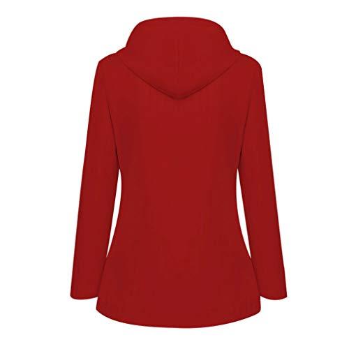 Solid Waterproof Jacket for Women Outdoor Plus Size Hooded Windproof Raincoat Winter Coat Windbreaker Overcoat