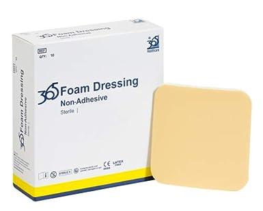 365 no adhesivo espuma – 7,5 x 7,5 cm – Pack de
