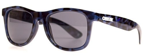 OGLX / Blue Tortoise / Smoke - Sunglasses By Service Secret Used