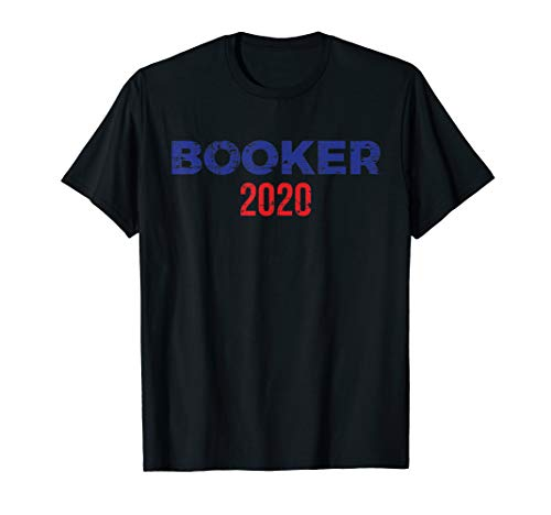 Cory Booker for President 2020 Distressed T-Shirt (Booker T And The Mgs T Shirt)