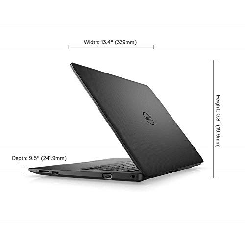 Dell Vostro 3480 14-inch HD Thin & Light Laptop (Core i3 8th Gen/4GB/1TB HDD/Windows 10/Black/1.72kg)