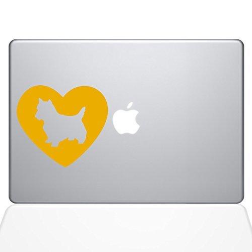 感謝の声続々! The Decal Guru Vinyl Heart Yorkshire Terrier Macbook [並行輸入品] Decal Vinyl (1327-MAC-15X-SY) Sticker - 15 Macbook Pro (2016 & newer) - Yellow (1327-MAC-15X-SY) [並行輸入品] B0788G6Z95, クサツシ:9a66e83d --- a0267596.xsph.ru